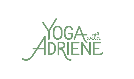 Yoga at home with Yoga with Adriene