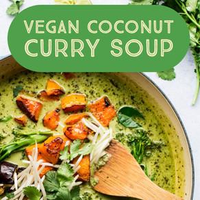 Hannah's FAVORITE Coconut Curry Soup (VEGAN)