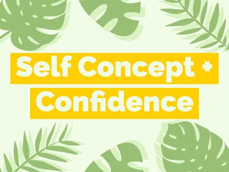 Self Concept + Confidence