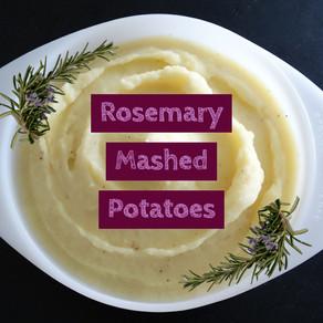 Vegan Rosemary Mashed Potatoes