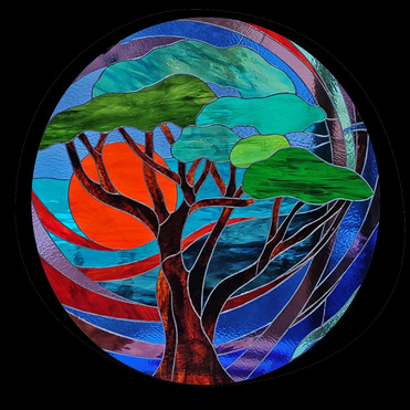 Circular Tree Panel
