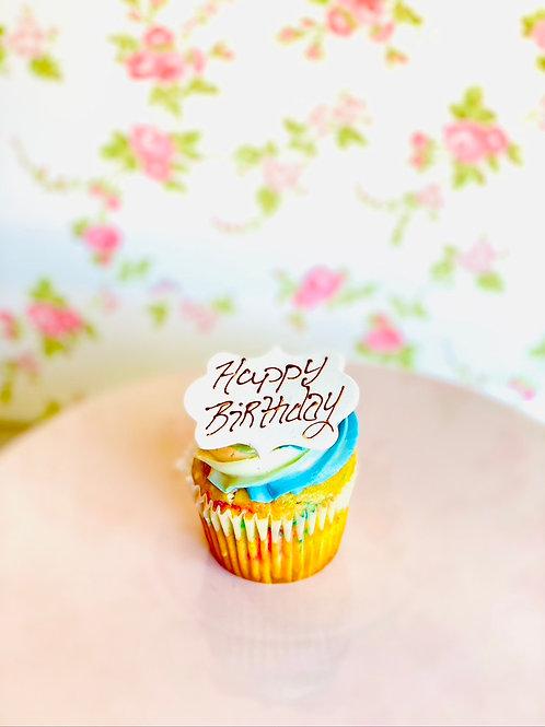 Cupcake Inscription Plaque