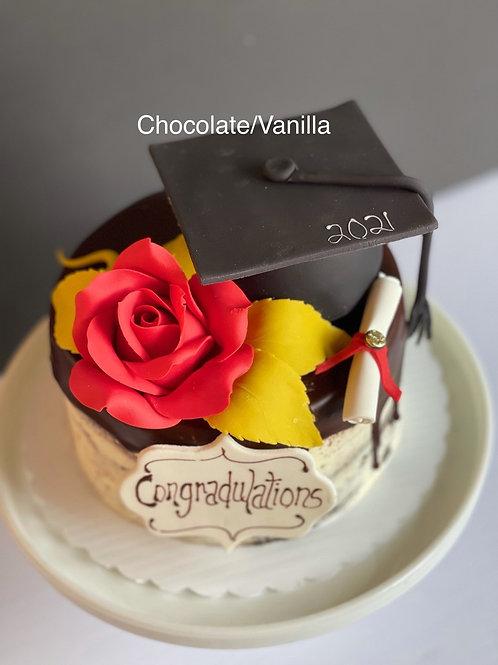 Signature Grad Cake