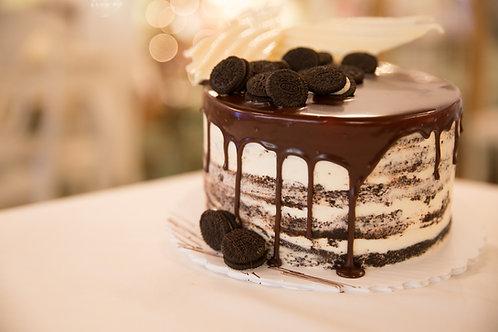 Chocolate with Vanilla Buttercream