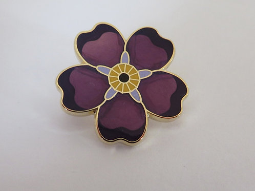 Armenian Genocide Emblem Forget-Me-Not Pin