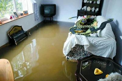 Залив квартиры. Возмещение ущерба.