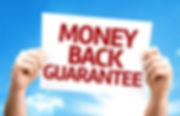 Hair loss treatment money-back guarantee