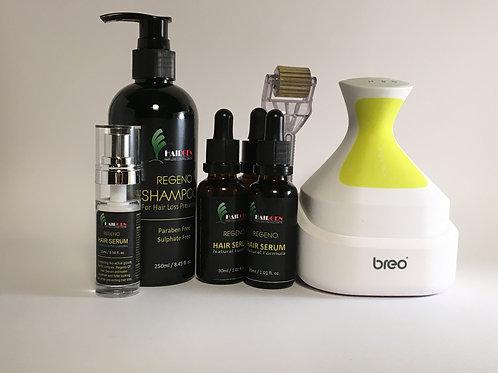 Self-Treatment Starter Kit for Revitalising Hair