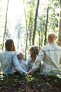 They just wanted to have a cute family photoshoot, so we went to the forest… and, well, they are so