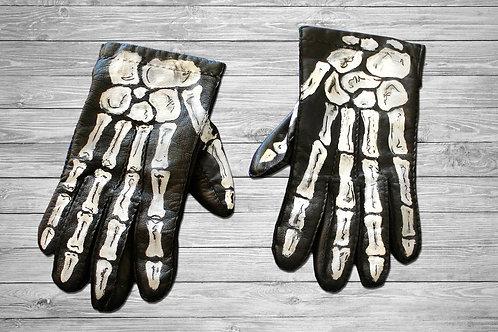 Esqueleto, huesos mano