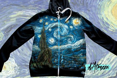 La noche estrellada, van Gogh