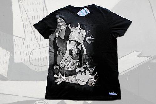 Guernica, Picasso (detalle)