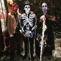 Americana esqueleto