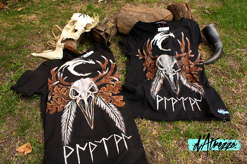 Cuélebre Crow Skull