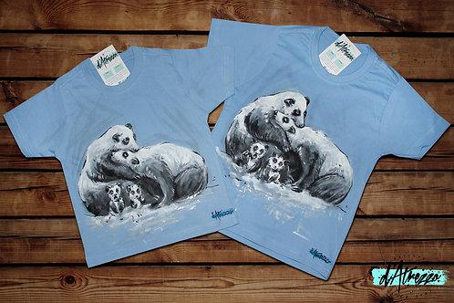 Familia osos panda