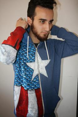 Capitán América, traje