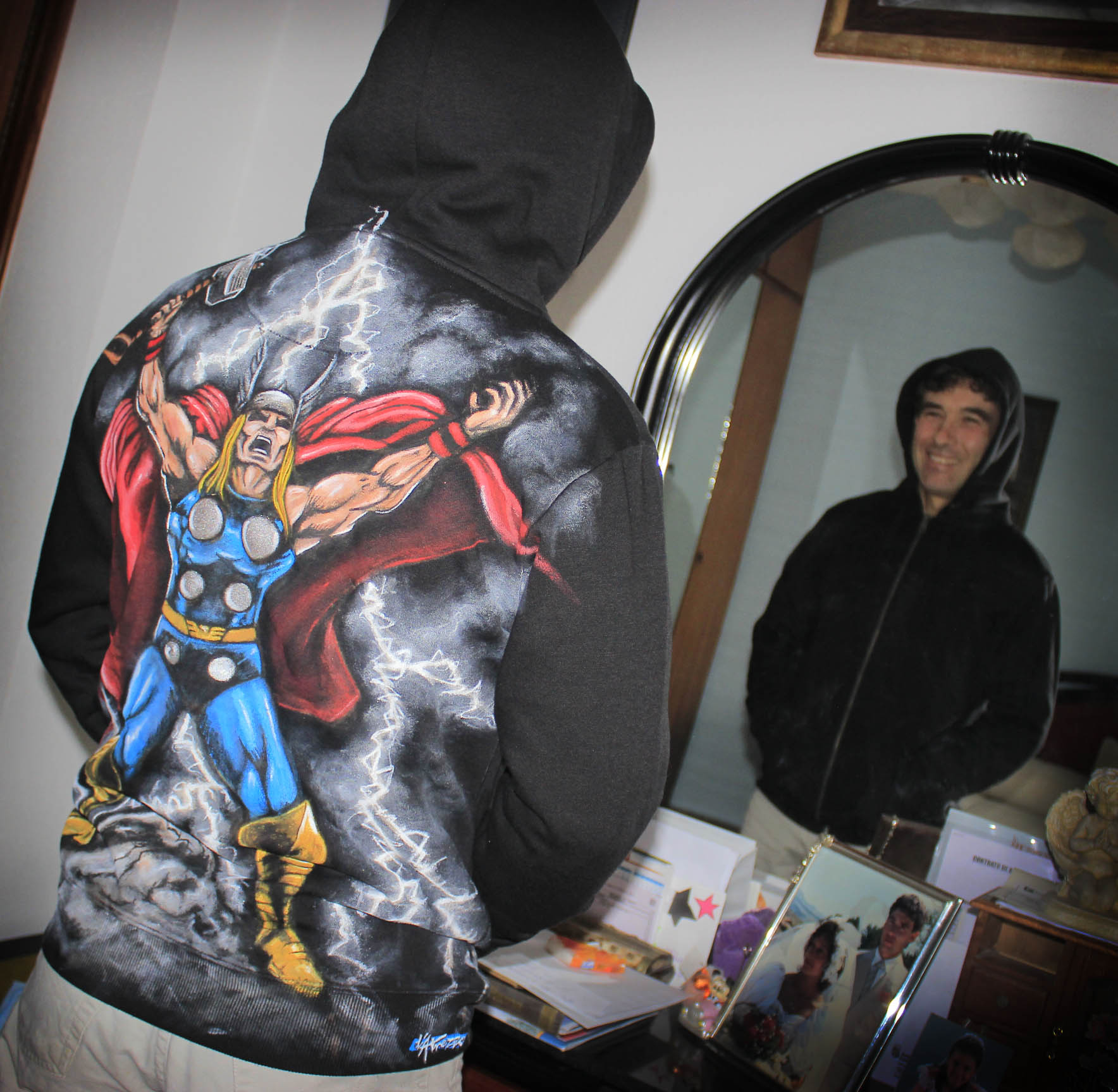 Sudadera Thor