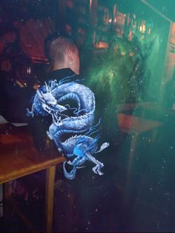 Cazadora Dragón chino