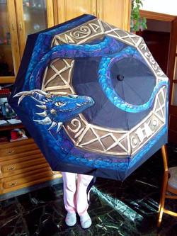 Paraguas Dragón