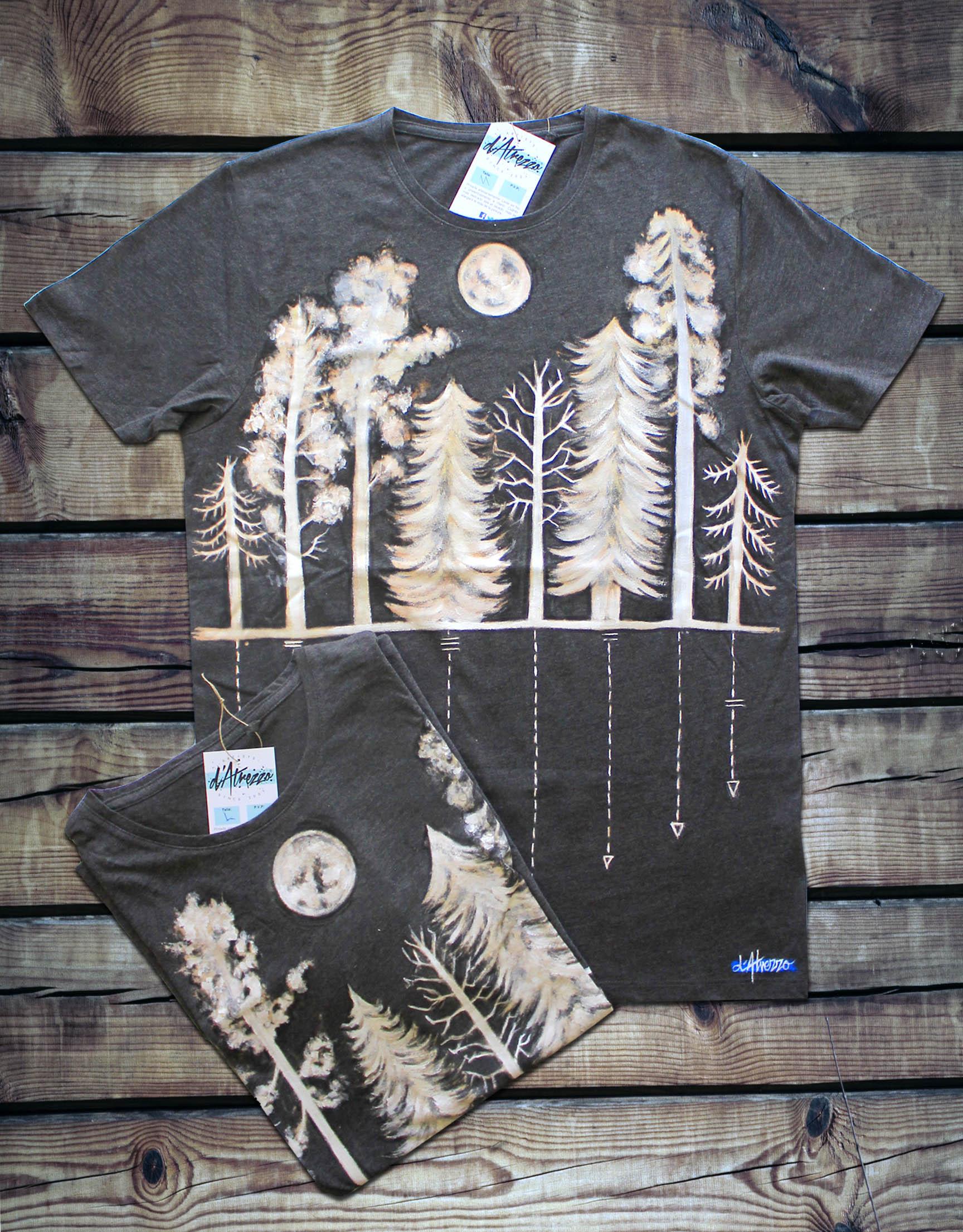 Camiseta bosque