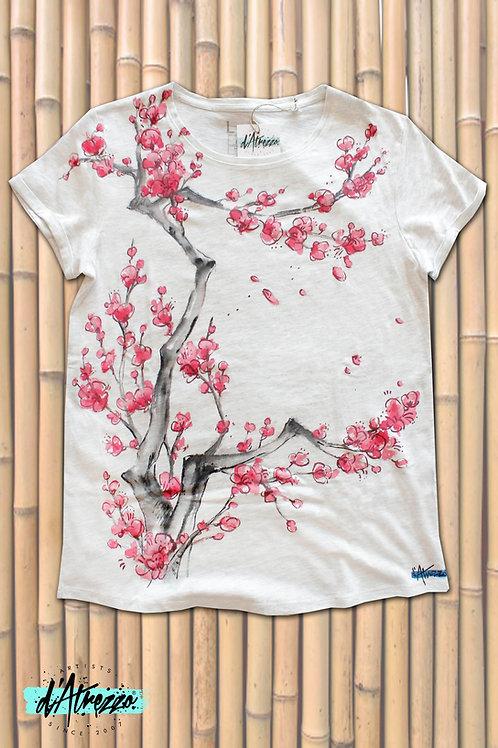 Cerezo japonés ramas