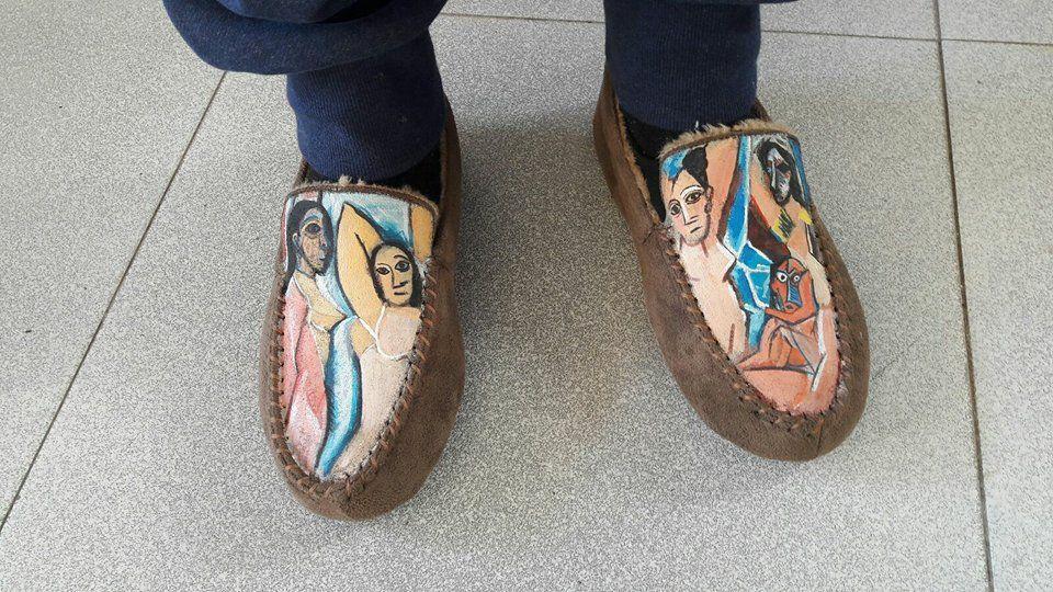 Pantuflas Picasso