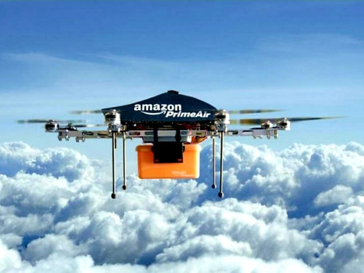 Amazon's Prime Air: fastest deliveries flying to your home soon...