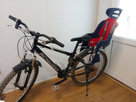 Горный велосипед с детским креслом