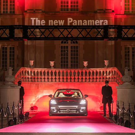 The new Panamera Sneak Preview