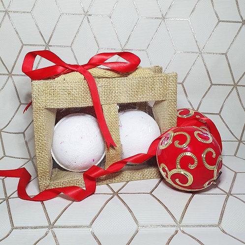 Double Bath Bomb Gift Bag