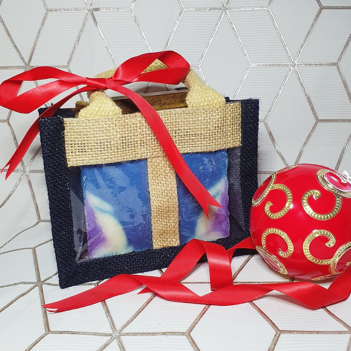 Double Soap Bar Gift Bag