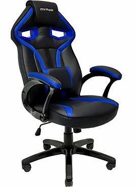 Cadeira Gamer Mymax Mx1 Giratória Preta-