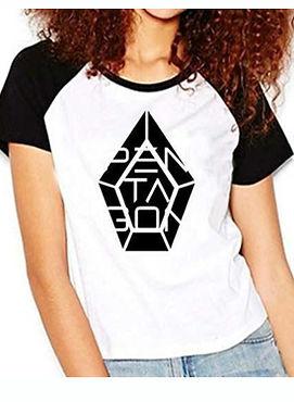 Camiseta Pentagon Kpop Babylook.jpg