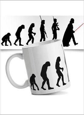 Caneca Evolução Nerd
