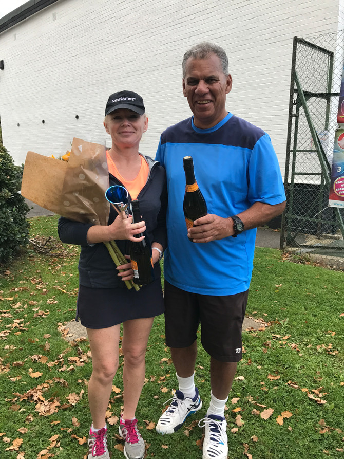Mixed Doubles Club Champions