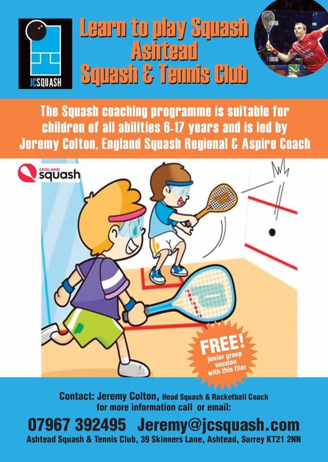 Junior Squash Lessons