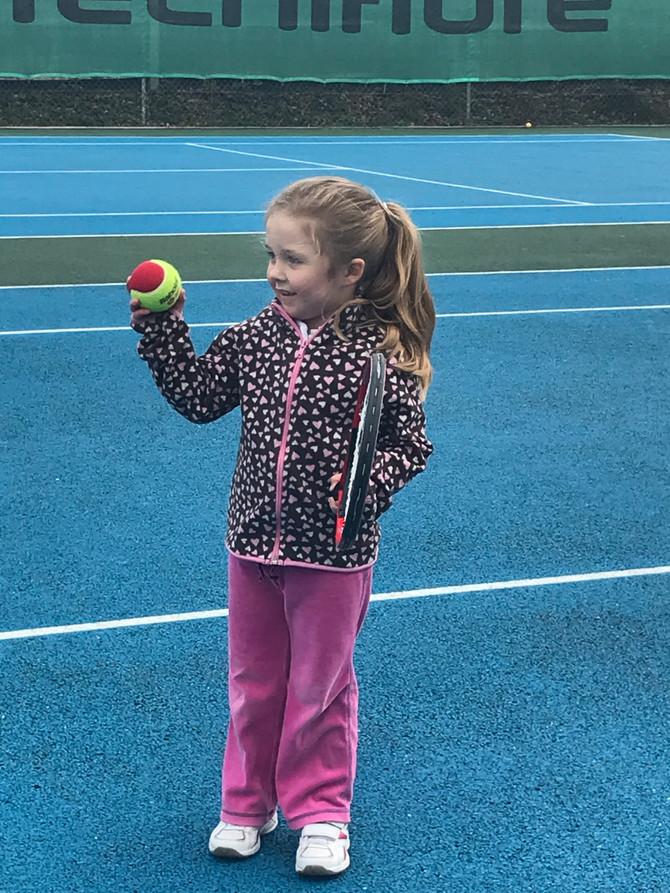 Junior tennis - spring term