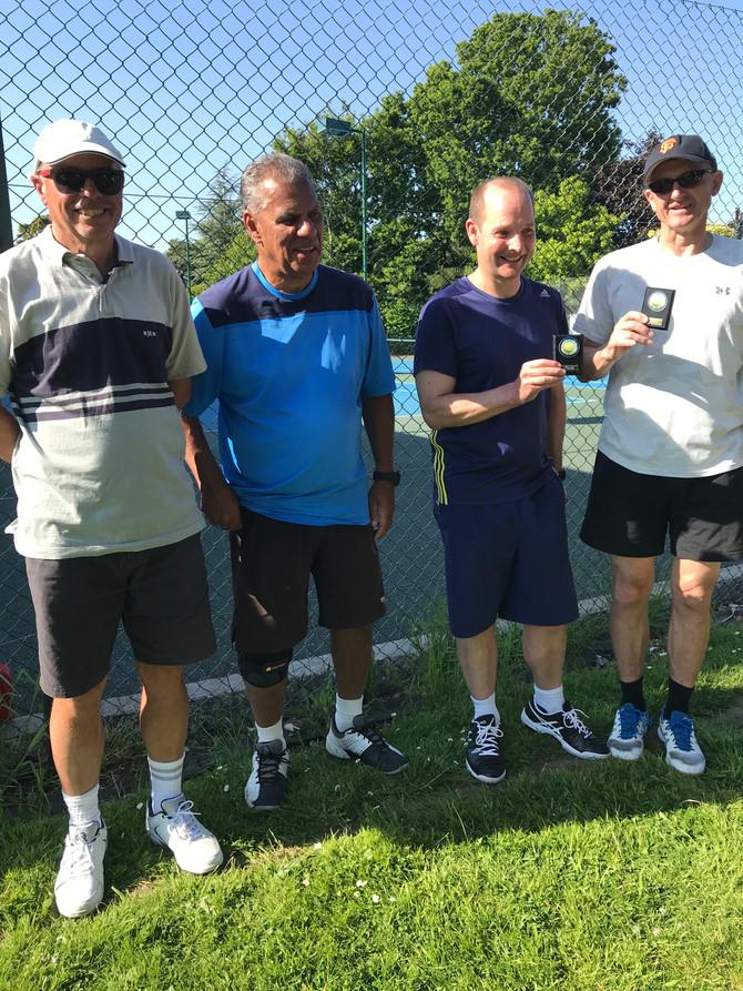 Tennis Winter Divisions Winners