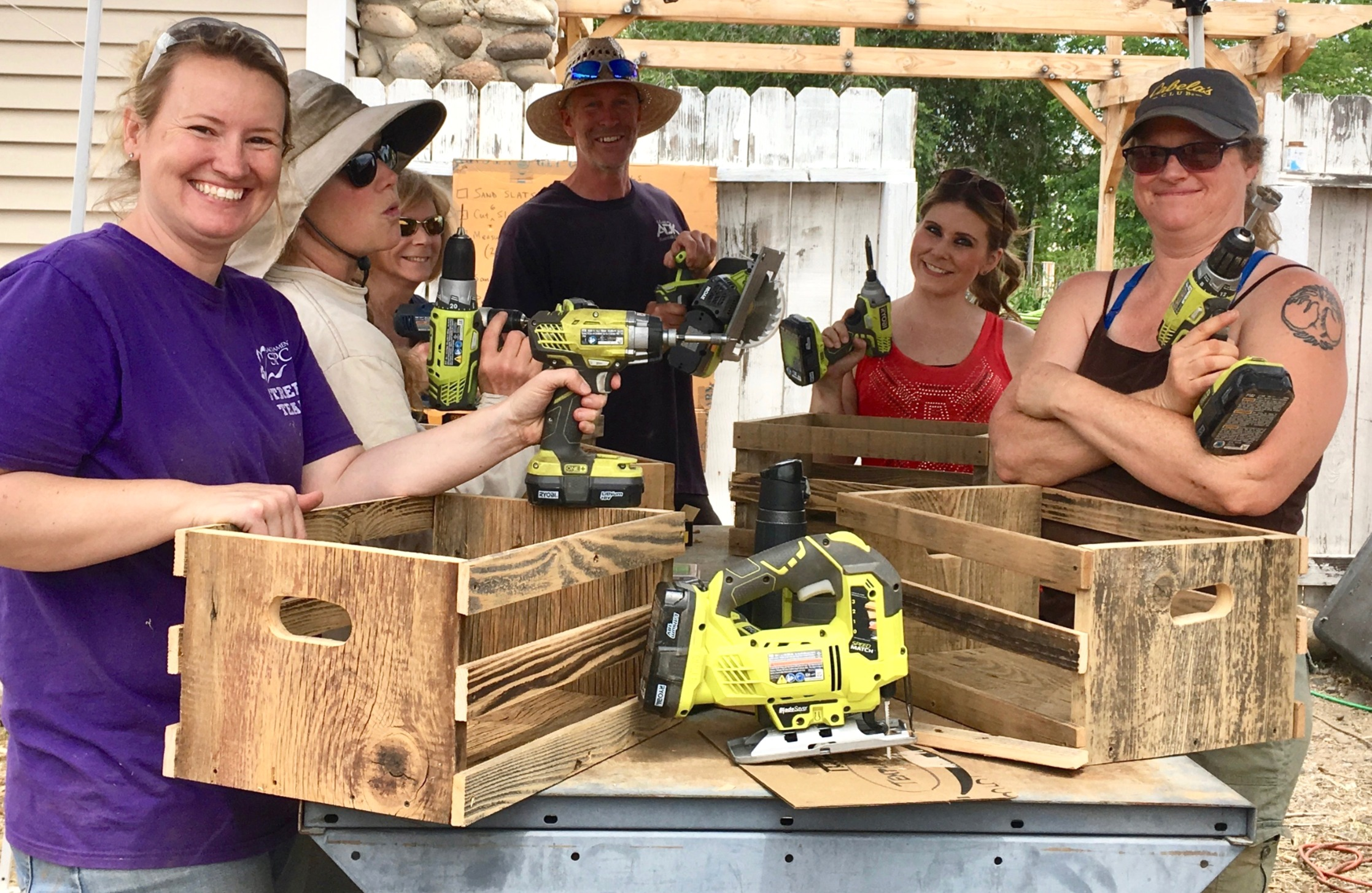 Power Tools to the People