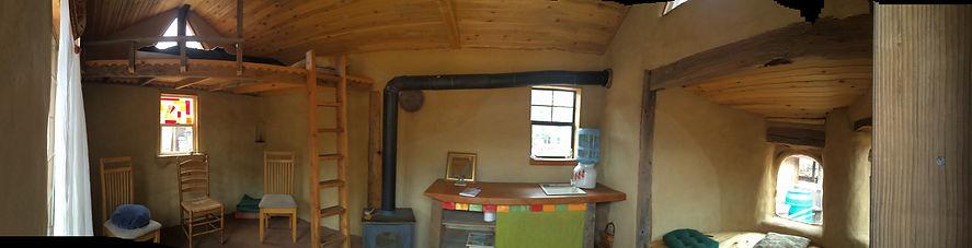 Cardboard Cob Cabin panoramic .JPG