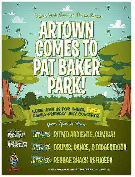 Baker Park Poster