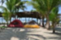 Camping at Boca de Iguanas Beach
