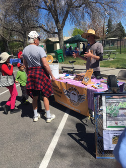 Tabling at Earth Day