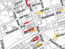 Five new Loading Zones in Downtown Flushing.