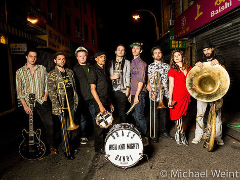 Music in the Garden: High and Mighty Brass Band