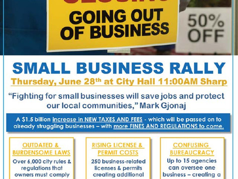 Small Business Rally