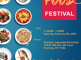 The Food Festival is back and will be making its landing next month!