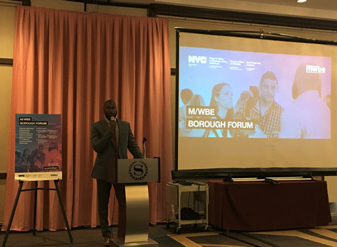 Minority and Woman-Owned Business Enterprise Borough Forum