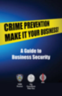 Business Security Brochure Cover (Englis