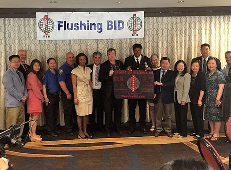 The Flushing BID Welcomes 109th Precincts newest Deputy Inspector Harrison